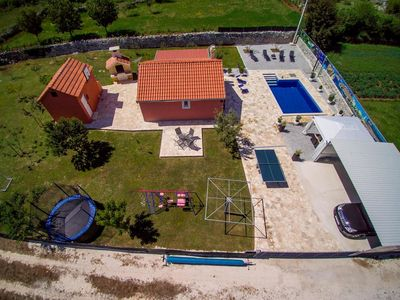 Photo for Family friendly house with a swimming pool Radošić, Kaštela (K-15891)