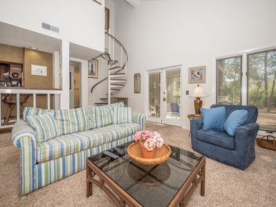 An Oasis of Comfort - After long, hot days in the sun, you and your guests will want nothing more than to relax and cool off, and the living area at St. Andrews Common 1664 is more than fit to do so!