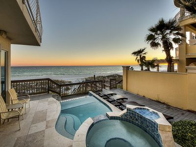 Photo for Stunning Beachfront Home in Destiny by the Sea w/ Beautiful Views & Private Pool!