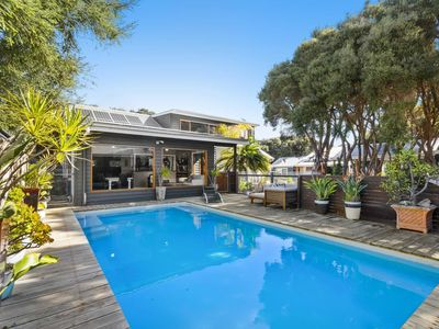 Photo for Sea Mist, a stunning, luxury 3 bedroom house with heated pool near the river