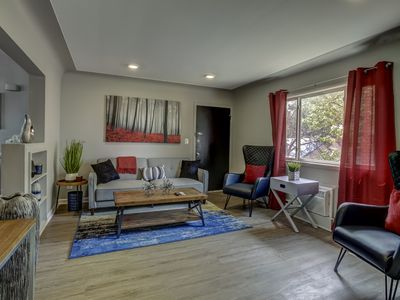 Photo for Modern Apt Minutes to Downtown Birmingham & Royal Oak!