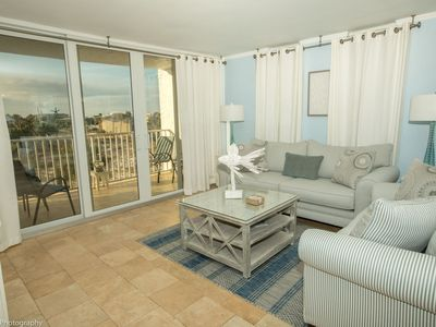 Photo for 306A is a Beautiful 2 BR  2Ba on the Harbor and comes with Free Use of Beach Buggy