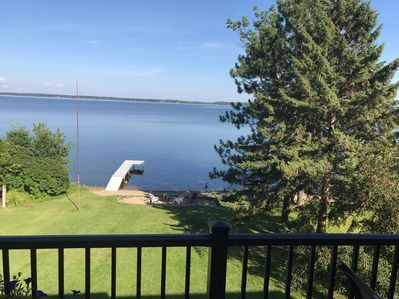 Welcome to Lake Bemidji View from the deck