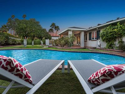 Photo for NEW LISTING! Luxurious house w/ pool, entertainment & privacy in great location