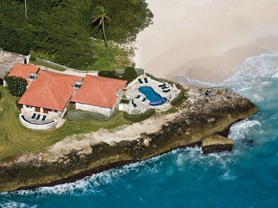 Photo for Wavecrest: Ocean Front villa with private pool and beach access