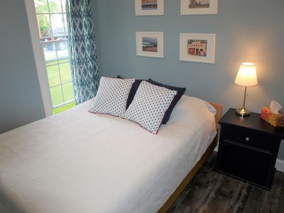 Second bedroom with new, comfy queen sized mattress.