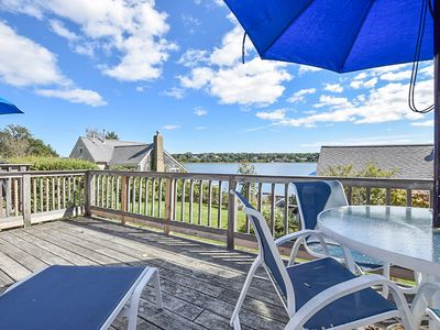 Photo for #421: Waterfront w/ open concept kitchen/living, amazing views! Dog friendly!