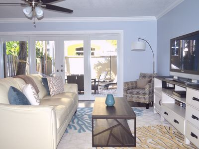 Photo for WOW!  Outstanding Beach Townhouse!  Just steps to beach, restaurants & shopping!