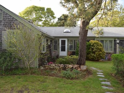 Photo for Charming And Private Cape Cod Cottage Steps To Saint's Landing Beach On The Bay