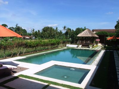 Photo for Three bedroom private villa in Ubud Bali