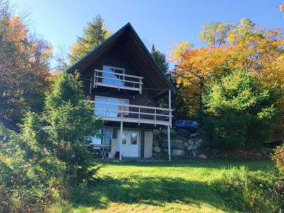 3 levels of living on this gorgeous, newly renovated a-frame