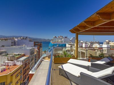 Photo for Luxury Penthouse with Stunning Views at the Best Bit of Las Palmas Beach
