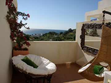 Mojacar: Beautifull beach apartment with sea views, swimming-pool and tennis