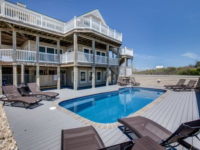 Photo for The Duck House | Oceanfront | Private Pool