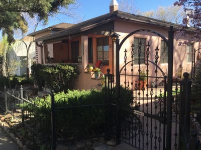 Photo for Cozy luxury in a piece of history, 3 blocks from downtown Prescott.