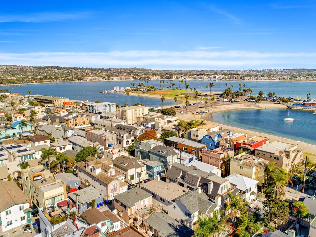 MAY DATES AVAIL!  San Diego Beach Cottage Steps To Mission Beach & Bay (Aqua)