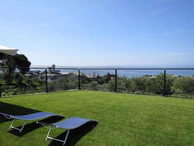 Photo for Apartment with wonderful sea and garden views