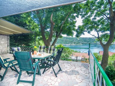 Photo for Holiday House Bakarac with Sea View and Pool only 200m from the Beach