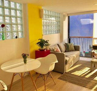 Photo for Quiet and secure apartment in the heart of the lively district of Roma-Norte