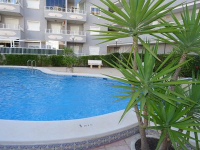 Photo for Puerto Principe Playa Apartment with pool in Guardamar