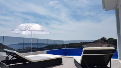 Photo for Newly built villa with pool on the roof