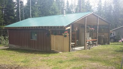 Photo for 2BR Cabin Vacation Rental in Lone Butte, BC