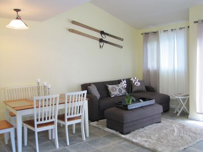 Photo for Steps To Ski, Shop, And Dine In Our Charming Condo