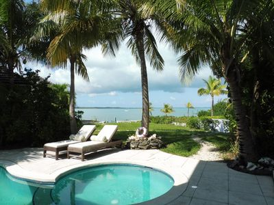 EXCEPTIONAL: Waters Edge, Pool, Dock, AC, Panoramic Views, RO System, Generator