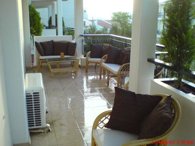 Photo for Beautiful 3 bedroom condo 5 min from Voula Beach