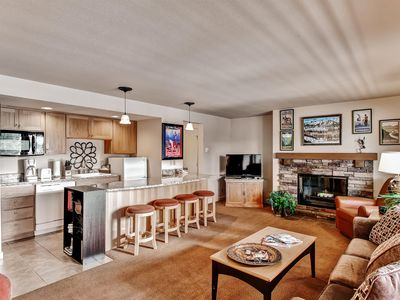 Photo for Bend Condo w/Deck & Forest Views!