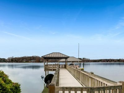 Photo for Private Dock, Amazing Lake Norman views, screened in porch & great family areas!