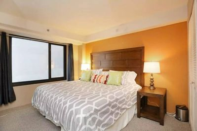 Extra-Comfortable KING Bed In Bedroom 2