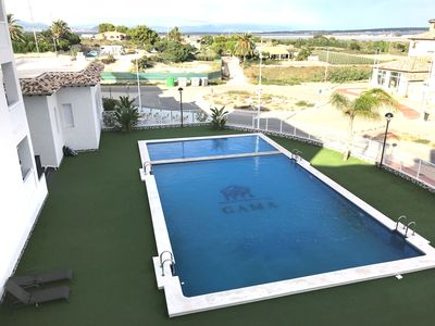 Photo for 2 Bedroom Air- Conditioned Penthouse Apartment in El Pinet La Marina