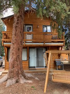 Photo for Moose Haven: Lemmon Lodge Riverfront Cabin #12 with Private Beach on Grand Lake!