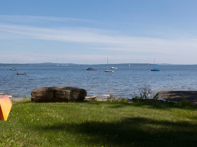 Photo for Waterfront Cottage On Penobscot Bay With a Sandy Beach!