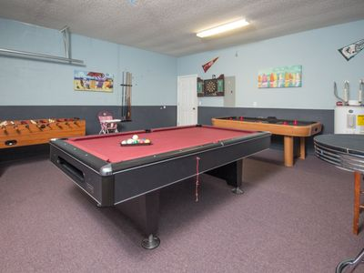 Photo for Games Room - Free Wifi - Private Heatable Pool & Spa - 15 Minutes to Disney