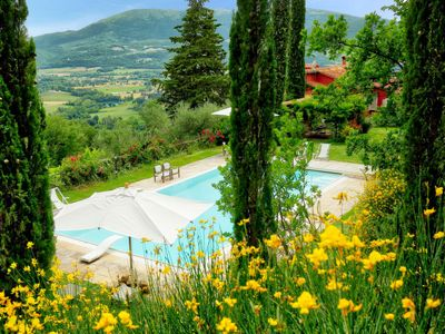 Photo for Vacation home  Paradiso in Perugia - 10 persons, 4 bedrooms