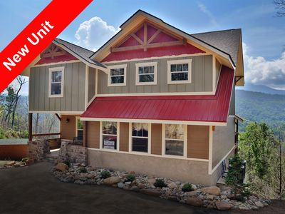 Photo for Above it All is a 4 bedroom cabin designed with family fun in mind.