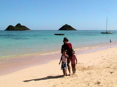 Photo for $4500/30-day off-season rate in Lanikai (30-day minimum stay)