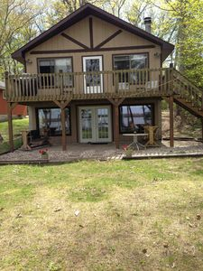 Photo for Little Platte Lake Front Cottage Near Sleeping Bear National Lakeshore