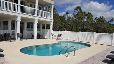 Photo for Gulf-front, fire pit, private pool, breathtaking views!
