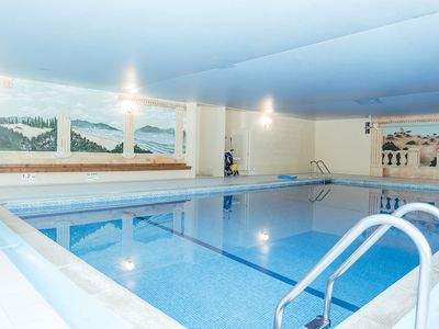 Photo for Lovely 3 Bed/3 Bath Converted Barn With Use Of Indoor Pool, Sauna & Tennis Court
