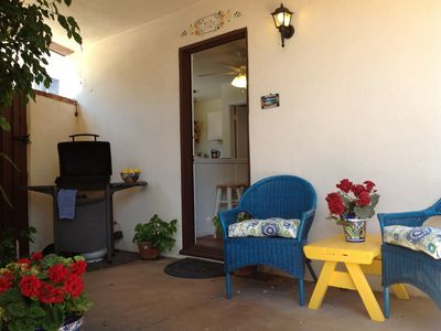 Photo for Charming 1B/1ba Casita/Condo, just 50 Steps to Ocean in South Mission Beach!