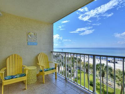 Photo for 1-Bedroom Beach-front Condo by Resort Collection–Coastal Fun on the Beach