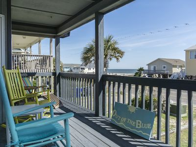 Photo for Out of the Blue: 4 Bedroom Classic Beach Cottage
