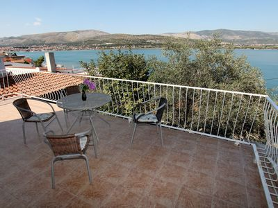 Photo for Holiday house Villa Maja  - Mastrinka, Island Ciovo, Croatia