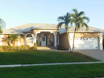 Photo for WATERFRONT VIEW, DOCK, POOL, 2.5mi to BEACH