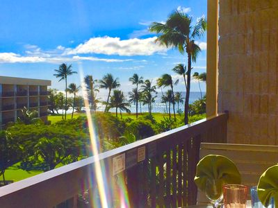 Photo for 🌺5.5 Acre Lush Oceanfront Penthouse with Mountain Sunrises, Ocean Sunsets