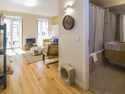 Photo for A cozy apartment in the typical and quiet neighborhood of Santos where you will be close to many places.