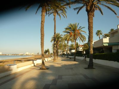 Photo for Apartment on the Mar Menor with sea view